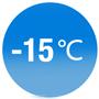 Функция от -15 ° C