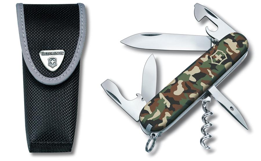 Купить Офицерский нож Victorinox Spartan the standart type, модель 1.3603.3 / чер